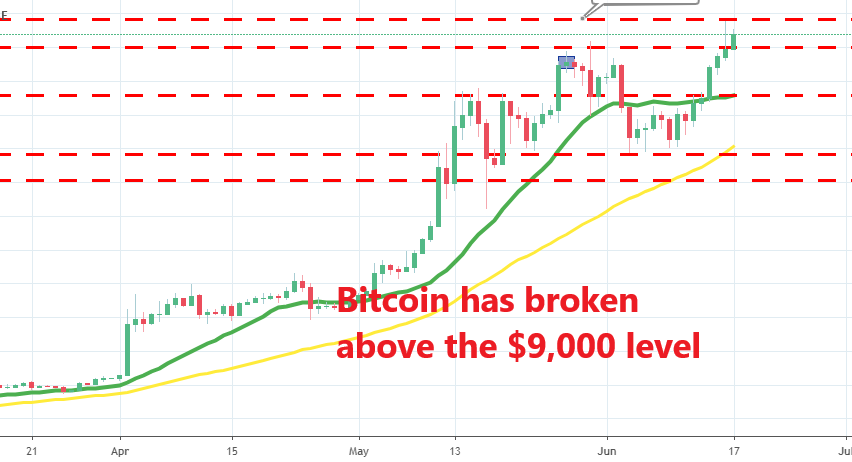 Now the next target is at $10,000