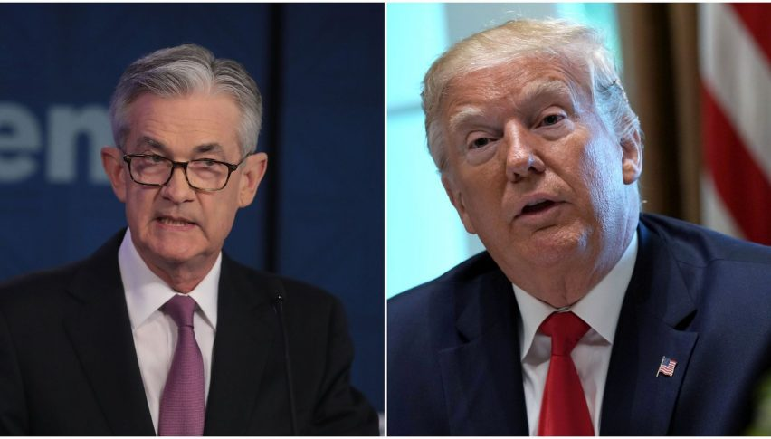 Powell: Hiking... Trump: Say what?