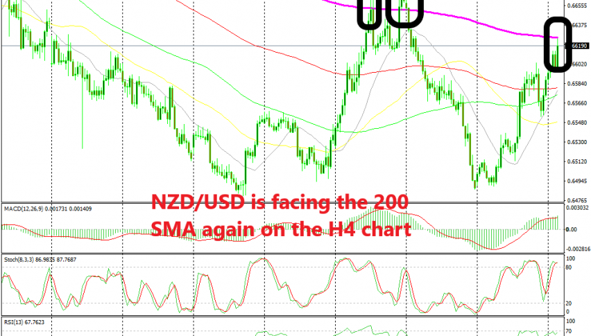 Will we see another reverse down in NZD/USD?