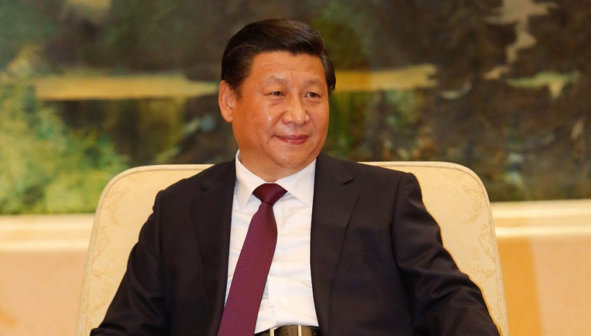 China's President just finished a speech on China's state media