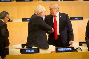 Trump. BoJo Discuss Free Trade