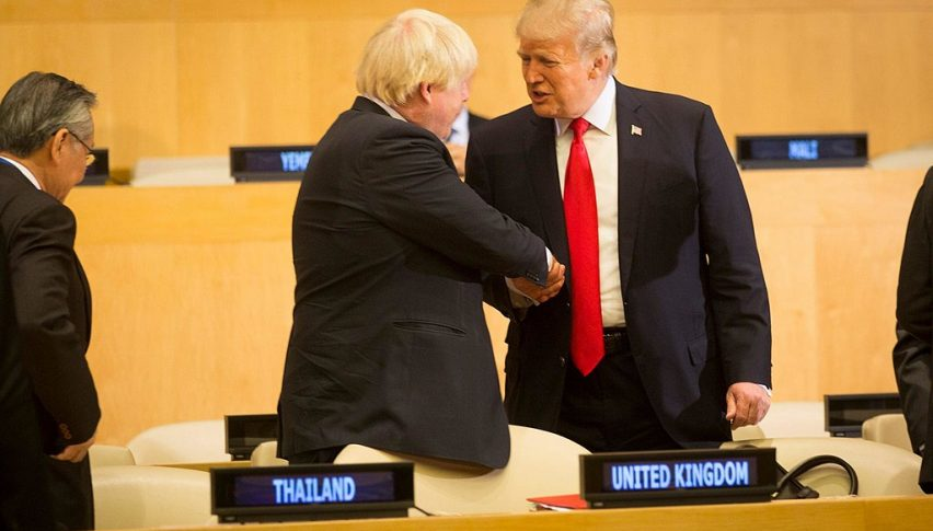 Trump. BoJo Discuss Free Trade