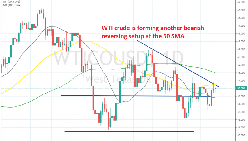The climb might be over for crude Oil