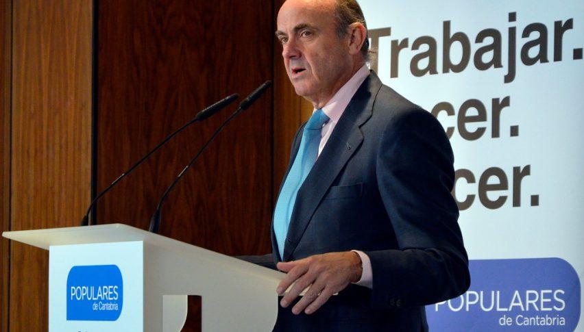 ECB vice president Luis de Guindos