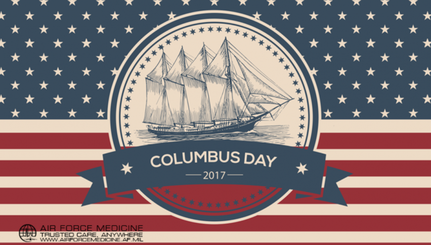 US and Canada are off for Columbus Day