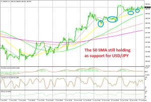 USD/JPY remains bullish this week