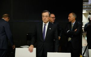 Draghi sounded pretty dovish today, but markets are used to it now