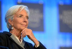 Lagarde is in...