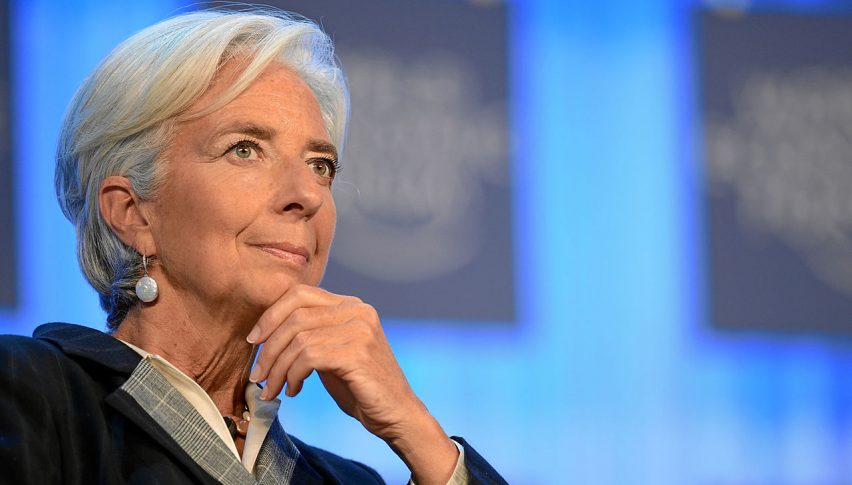Lagarde is in...