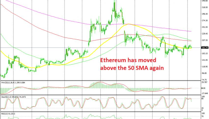 Looks like Ethereum will turn bullish soon