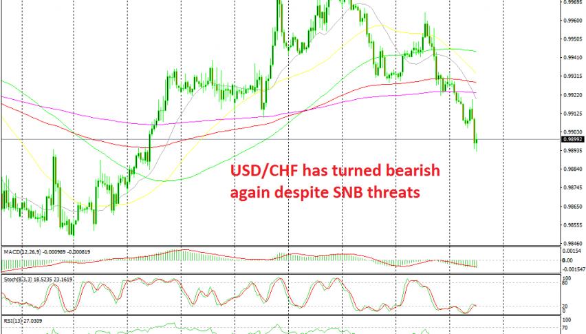 Markets are ignoring SNB's Jordan today
