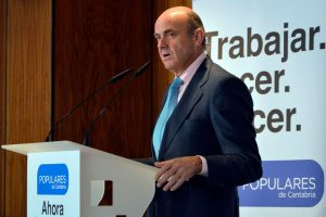 De Guindos wants Germany to increase fiscal spending