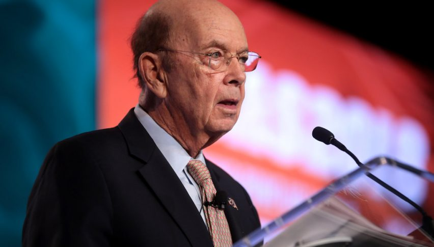 Wilbur Ross turned the sentiment positive today with his comments