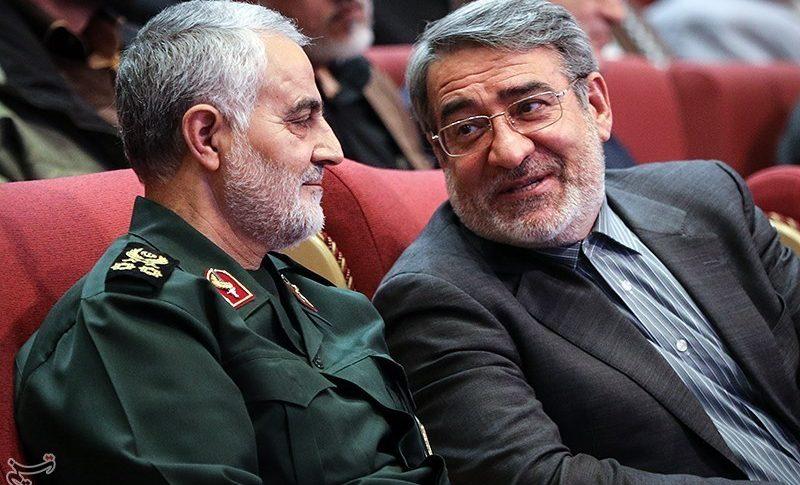Top Iranian military leader, Qasem Soleimani