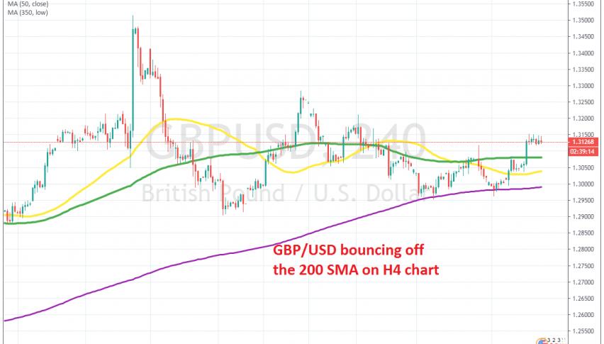 GBP/USD has turned bullish this week