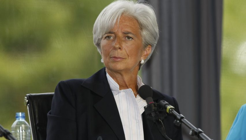 Lagarde doesn't seem like a hawk so far