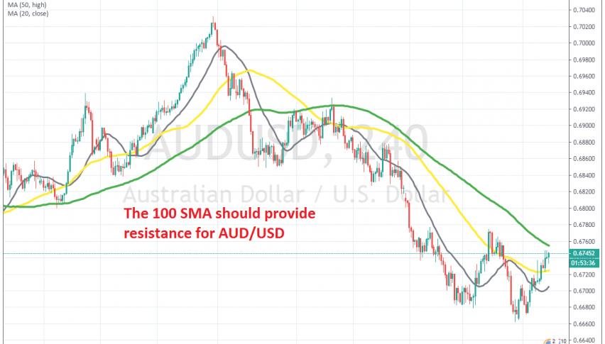 The retrace higher seems complete now