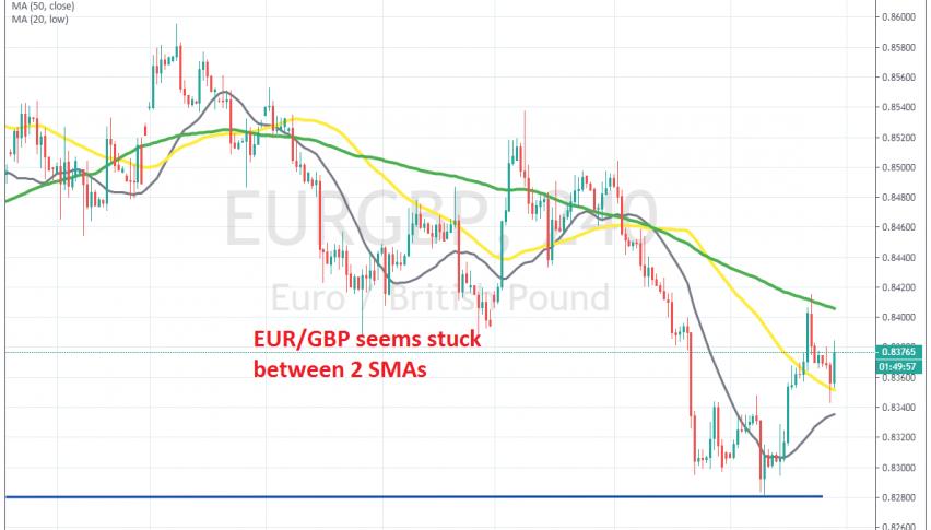 EUR/GBP seems uncertain now