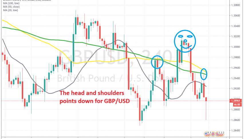 The retrace higher is complete for GBP/UD now