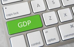 The GDP report couldn't move markets, which are stuck on coronavirus