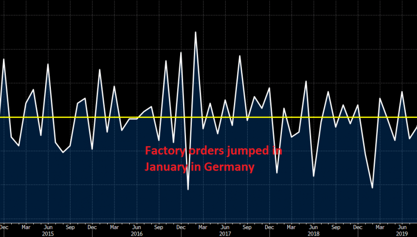 Great month in January for factory orders