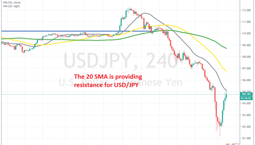 The pullback is complete for USD/JPY on the H4 chart