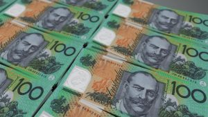 The AUD has tumbled further