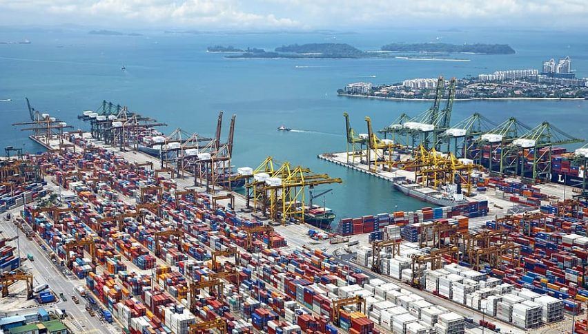 Japan's Imports and Exports Suffer, Trade Surplus Rises to Highest Level Since September 2007