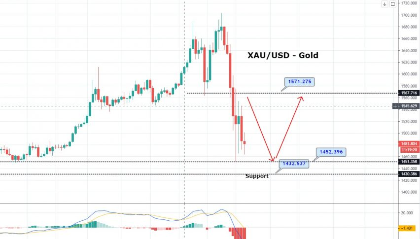 Gold Plunged Amid Stronger Dollar - What to Expect Today?