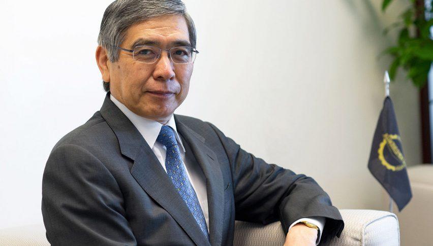 BOJ Governor Kuroda Highlights Economic Risks of Coronavirus