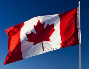 The Canadian flag continues to fly proud above coronavirus