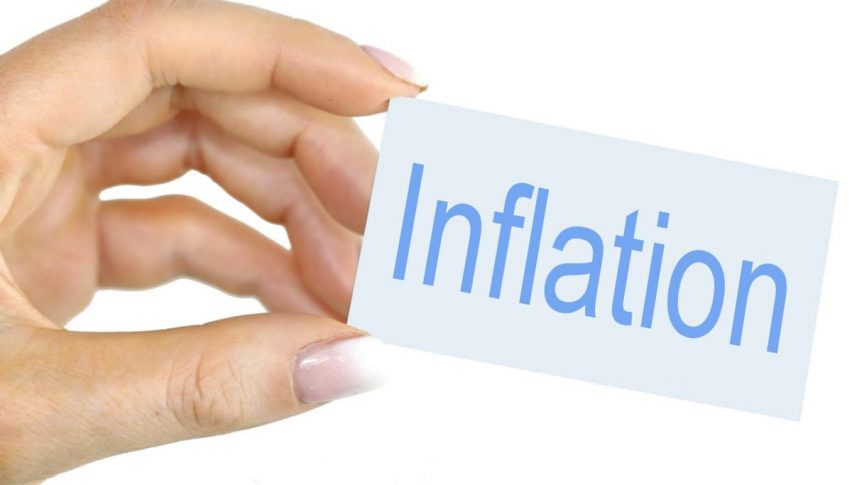 Inflation declined for the second month in April