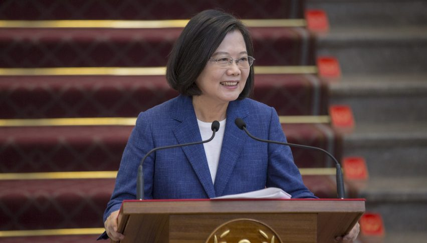 The Taiwan president after the election