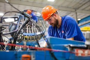 There's a bottom in place in manufacturing activity