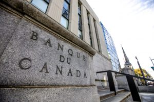 Bank of Canada held its monthly meeting today