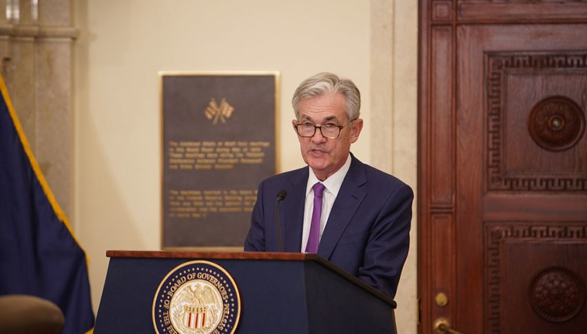 Powell is speaking live, after the dovish message from the FED