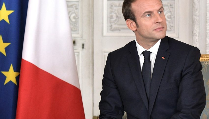 French President Macron Discusses Economic Recovery Plans