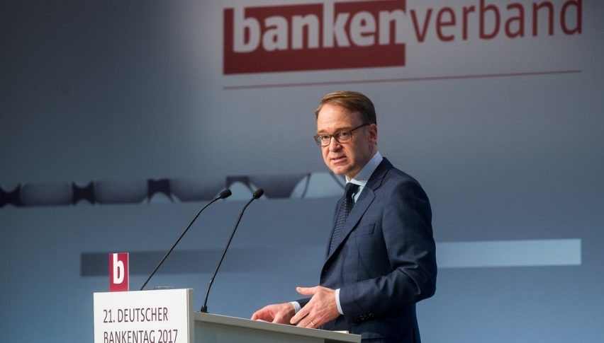 Weidmann pries to play it cool, but we know the situation is not such