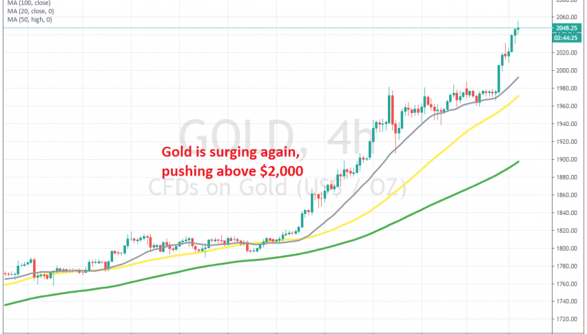 Sellers nowhere to be seen in Gold