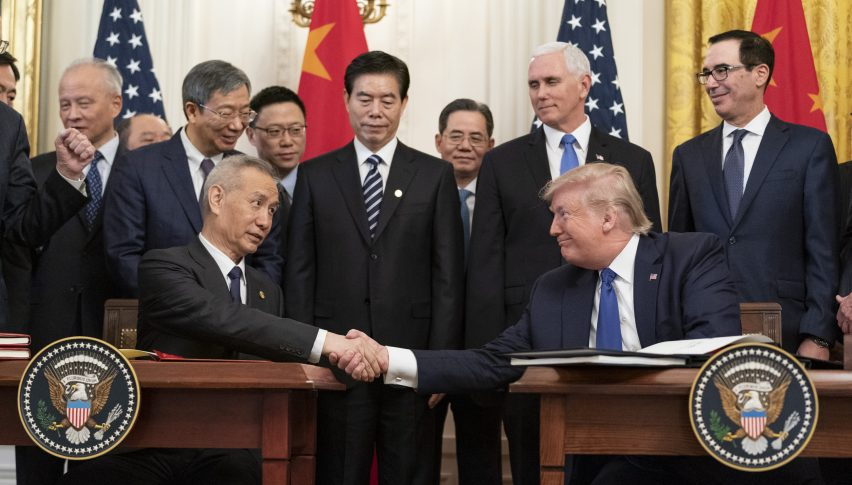 US-China Officials Hold Promising Discussion on Phase One Deal