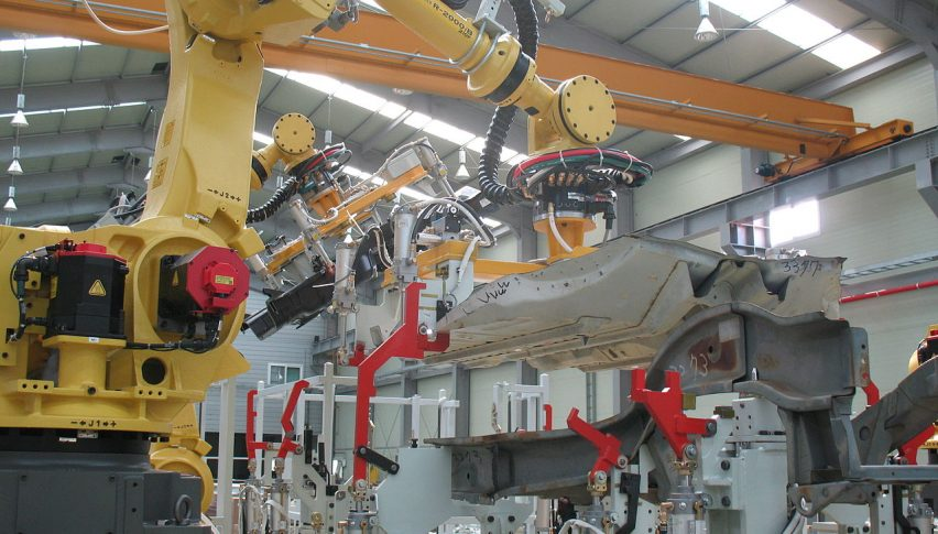 Stockpiling Boosted Manufacturing Activity in the UK in December