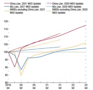 IMF 2021 GDP Forecast