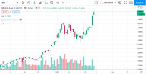 Grafico Giornaliero Bitcoin