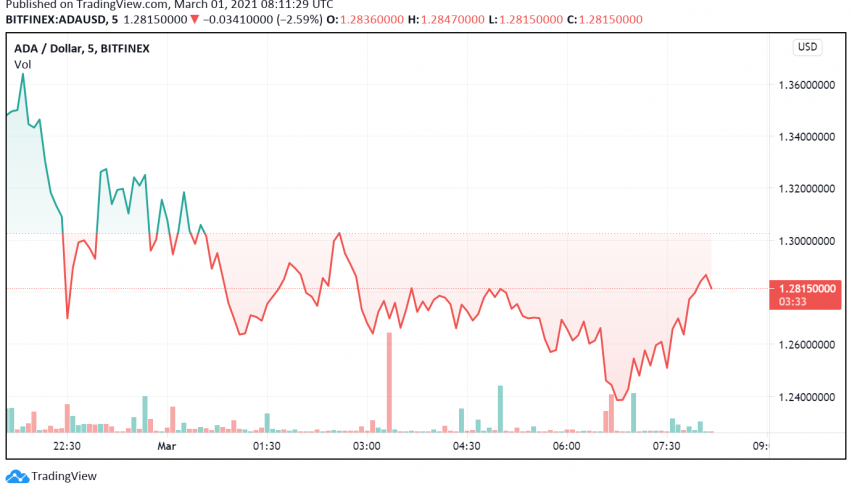 Cardano Set For Price Correction After Touching Record High?