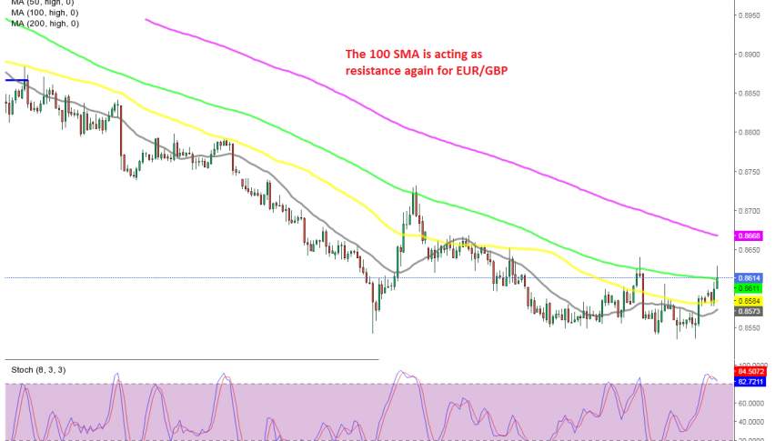 The pullback seems complete, with stochastic already overbought