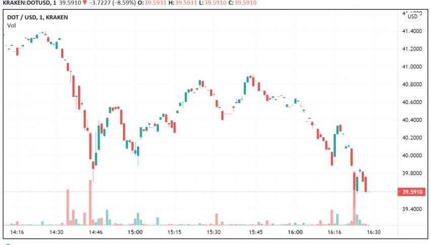 Polkadot Drops Below $40, But Fundamentals Support Rise