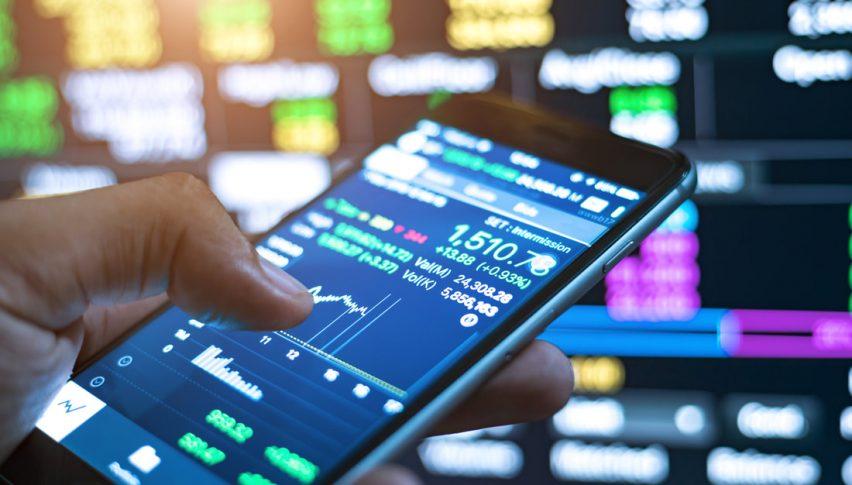 grafico forex su smartphone
