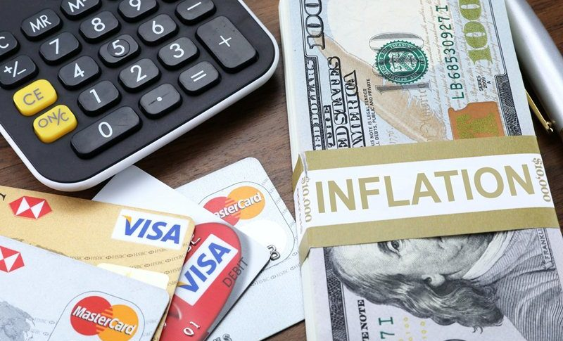 Inflation is surging as well in the US now