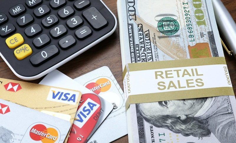 US retail sales jumping up in June