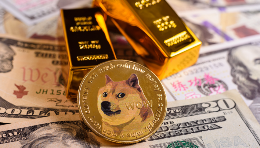 Shiba Inu being supported by the 50 daily SMA
